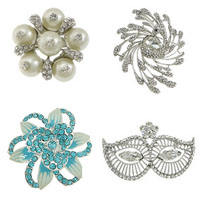 Zinc Alloy Brooches