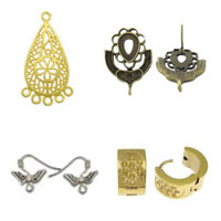 Zinc Alloy Earring Findings