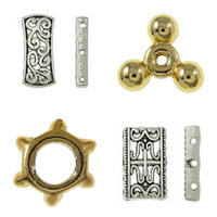 Zinc Alloy Jewelry Spacer