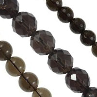 Natural Smoky Quartz Beads