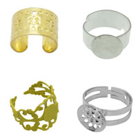 Brass Finger Ring Setting