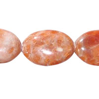 Orange Calcite Beads