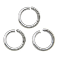 Brass Open Jump Ring, Donut, plated, more colors for choice, cadmium free, 9160PCs/KG, Sold By KG