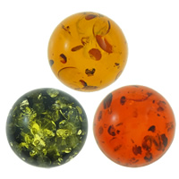 Imitation Amber Resin Cabochon, Flat Round, different size for choice & flat back, more colors for choice, Sold By PC