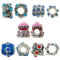 Zinc Alloy Jewelry European Beads
