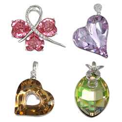 CRYSTALLIZED™ Crystal  Pendants