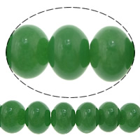 Green Aventurine Bead, Rondelle, 14x20mm, Hole:Approx 1mm, Approx 28PCs/Strand, Sold Per Approx 15.5 Inch Strand