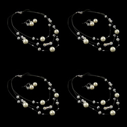 Bead Memory Wire Jewelry Sets