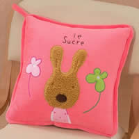 Air Conditioner Pillow, Plush, with Cotton, Cartoon, 40x40cm, 110x150cm, 3PCs/Lot, Sold By Lot