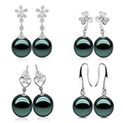 Tahitian Pearls Earrings