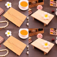 Jewelry Photo Props, Wood, Rectangle, more colors for choice, 150x100x40mm, Sold By PC