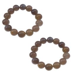 Grey Agate Bracelets