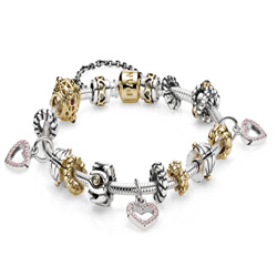 Stainless Steel  European Bracelets