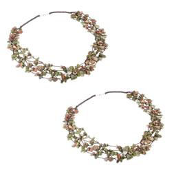 Gemstone Chip Necklaces