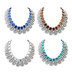 Zinc Alloy Jewelry Necklace