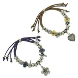 Fashion Velveteen Cord Bracelets