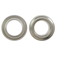 Iron Grommet, platinum color plated, different size for choice, Sold By PC