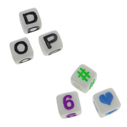 ABS Plastic Beads