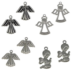 Stainless Steel Angel Pendant