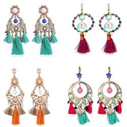 Fashion Tassel Earring