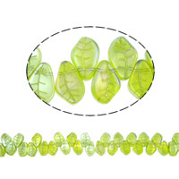 Leaf Crystal Beads