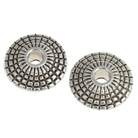 Zinc Alloy Jewelry Beads, Rondelle, plated, more colors for choice, nickel, lead & cadmium free, 8x3.5mm, Hole:Approx 1.5mm, Approx 2000PCs/KG, Sold By KG
