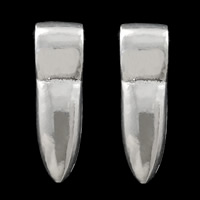Sterling Silver Jewelry Bail, 925 Sterling Silver, 8x27x8.5mm, Hole:Approx 5.5x8mm, Sold By PC