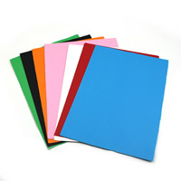 Origami Paper, Rectangle, mixed colors, 21x29.5cm, 10PCs/Bag, Sold By Bag