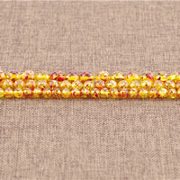 Imitation Amber Resin Beads, Round, different size for choice, Hole:Approx 1.5mm, Length:Approx 15.5 Inch, Sold By Strand
