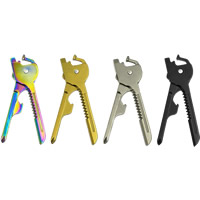 Stainless Steel Multifunctional Key Knife, plated, more colors for choice, 70x0.3mm, Sold By PC