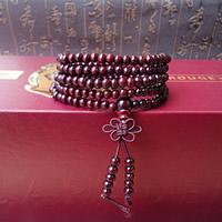 108 Mala Beads, Sandalwood, Buddhist jewelry & 5-strand, 850mm, Length:Approx 33 Inch, 108PCs/Strand, Sold By Strand