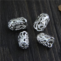 Sterling Silver Bead Caps, 925 Sterling Silver, different size for choice & hollow, Sold By PC