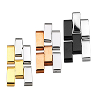 Stainless Steel Pendants, plated, more colors for choice, 14x28x3.5mm, Hole:Approx 2.3mm, Sold By PC