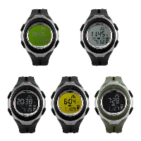 comeon® Unisex Jewelry Watch, Silicone, with Plastic, LED, more colors for choice, 50mm, Length:Approx 10 Inch, Sold By PC