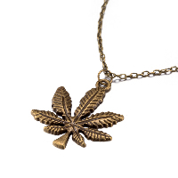 comeon® Jewelry Necklace, Zinc Alloy, with 1.9lnch extender chain, Maple Leaf, antique bronze color plated, oval chain & for woman, 40x44mm, Length:Approx 18.1 Inch, Sold By Strand