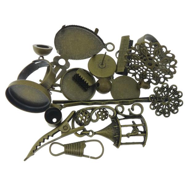 D antique bronze cadmium free