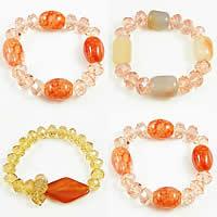 Agate Crystal Bracelets