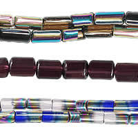 Tube Crystal Beads