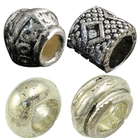 Zinc Alloy Large Hole Beads