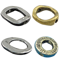 Zinc Alloy Frame Beads