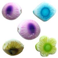 Seaweed Acrylic Beads