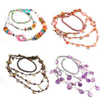 Shell Seed Beads Necklace