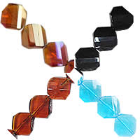 Rhombus Crystal Beads
