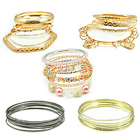 Iron Multi Bangle Set