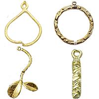 Brass Pendant Findings