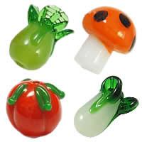Plant Lampwork Beads