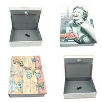 Iron Book Safe Box