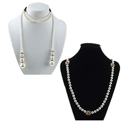 South Sea Shell Sweater Chain Necklace