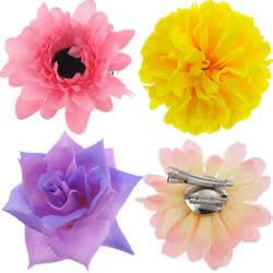 Flower Hair Clip Brooch
