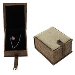 Hemp Jewelry Set Box
